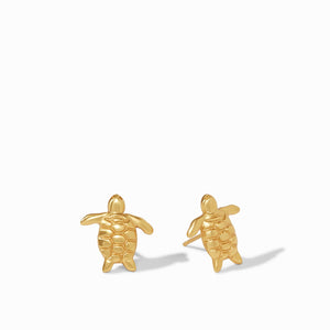 JULIE VOS TURTLE STUD EARRINGS