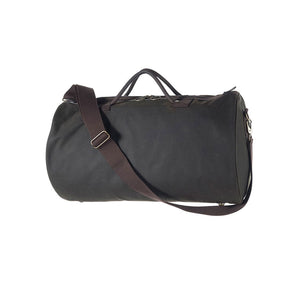 BARBOUR WAXED COTTON HOLDALL BAG - 2 COLOR OPTIONS