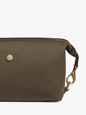 MISMO M/S WASHBAG - ARMY/DARK BROWN