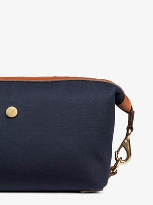 MISMO M/S WASHBAG - MIDNIGHT BLUE/LEATHER