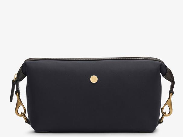 MISMO M/S WASHBAG - NAVY/DARK BROWN