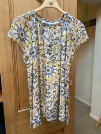 Short Sleeve Print Blouse (4587338039373)