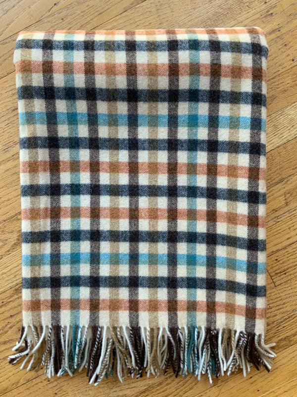 Lambs Wool Plaid Throw (4622986969165)