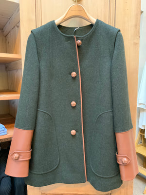 FELTED WOOL COAT (4665330040909)