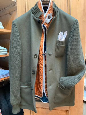 MEN'S KNIT AND FELT JACKET (4665269321805)