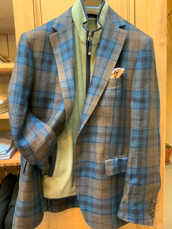 PLAID SPORT COAT (4665291604045)