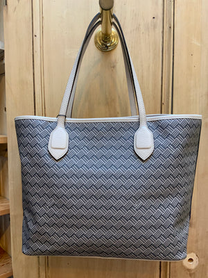 Delange Signature Print Tote - 3 COLOR OPTIONS (4665208242253)
