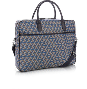 LANCASTER IKON BRIEF CASE - BLUE