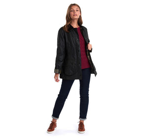 BARBOUR BEADNELL WAXED WOMEN'S JACKET WITH BETTY LINER VEST