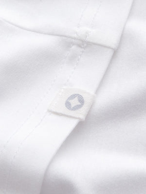 DEREK ROSE BASEL 1 MEN'S SHORT SLEEVE SHIRT - WHITE