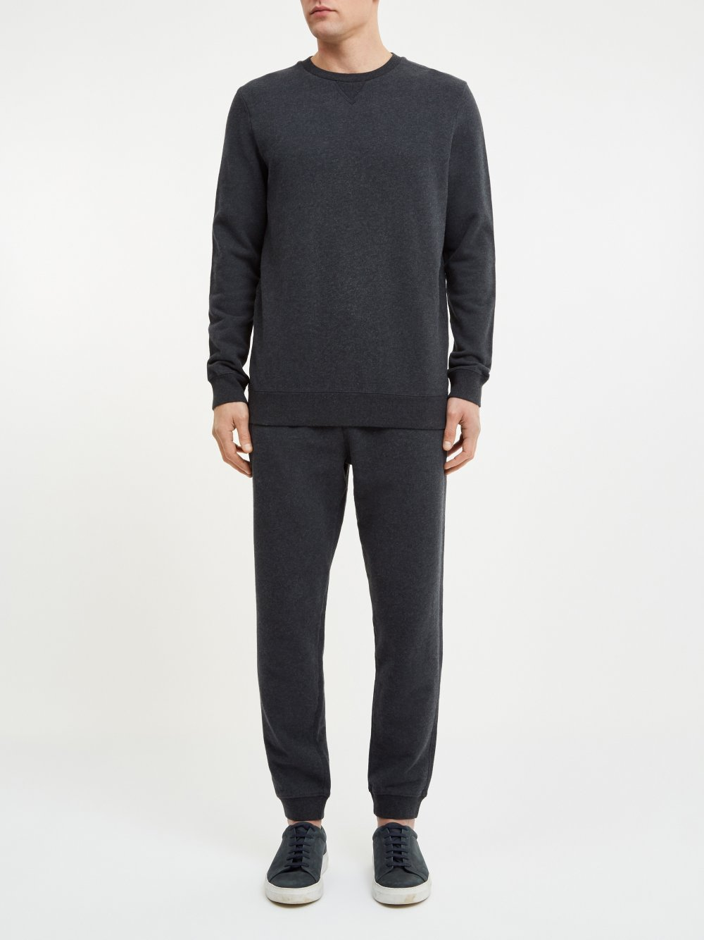 DEREK ROSE DEVON MEN'S SWEATPANTS - CHARCOAL