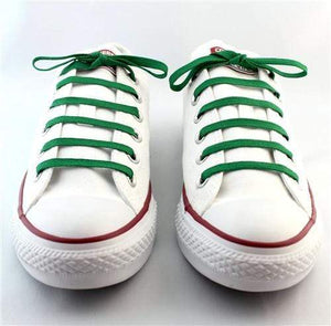 STOLEN RICHES NICKLAUS GREEN SNEAKER LACES