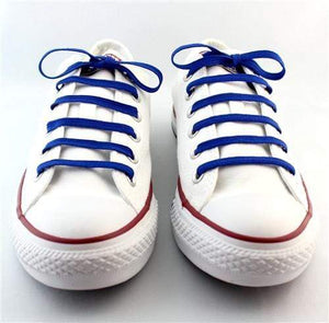 SHARP BLUE SNEAKER LACES
