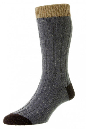 PANTHERELLA THORNHAM MEN'S WOOL SOCK - 4 COLOR OPTIONS