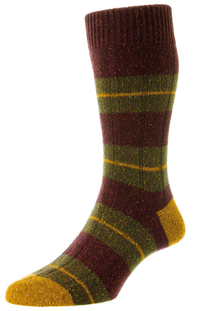 PANTHERELLA BAYFIELD MEN'S WOOL SOCK - 2 COLOR OPTIONS