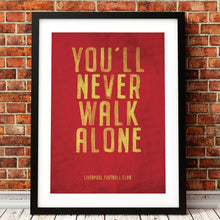 Load image into Gallery viewer, Liverpool FC Vintage Poster