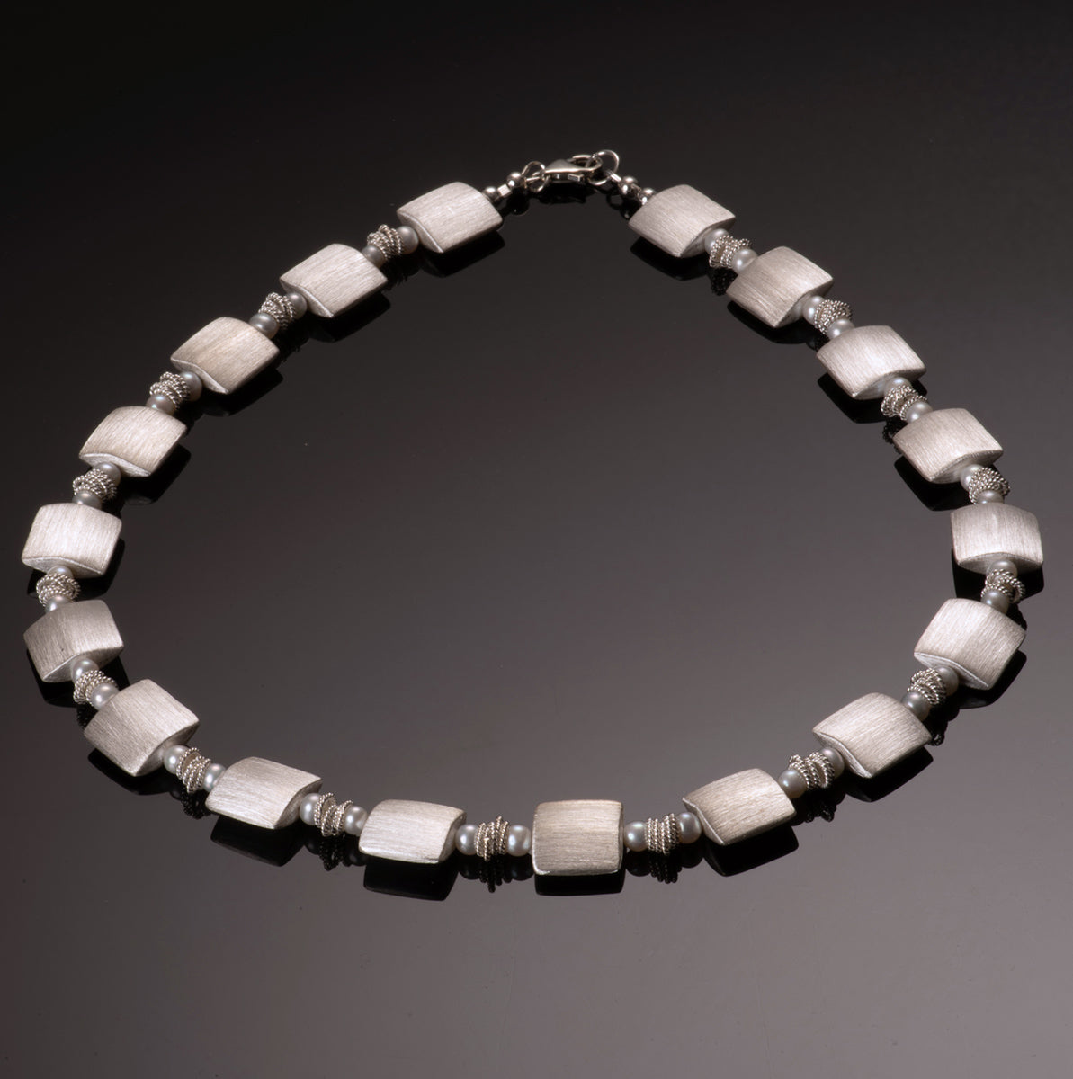 signature white pearl necklace