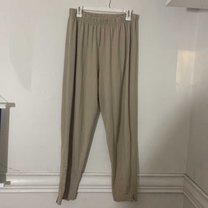 'Elease' High-Waisted Camel Pants (L) - Shop Vanilla Vintage