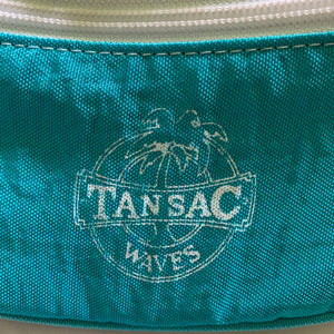 Vintage Authentic 80s Teal Fanny Pack