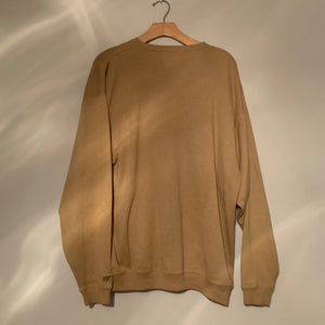 'Carter' Camel Brown Light Knit Sweater (One Size)