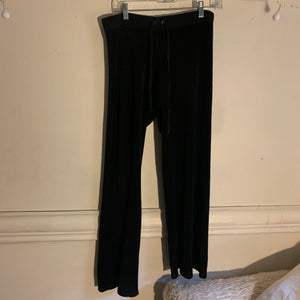 Y2K Juicy Couture Black Velour Tracksuit (M/L) - Shop Vanilla Vintage