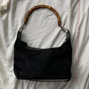 Vintage Gucci Bamboo Shoulder Bag - Shop Vanilla Vintage