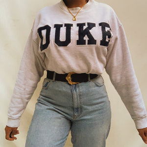 Vintage Duke University Grey Sweatshirt (M-XXL)