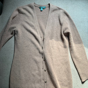 'Marisa' Turtleneck + Maxi Cardigan Knit Co-Ord Set (L/XL)