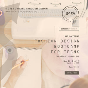 Fashion Design Bootcamp for Teens (Ages 13 to 19)