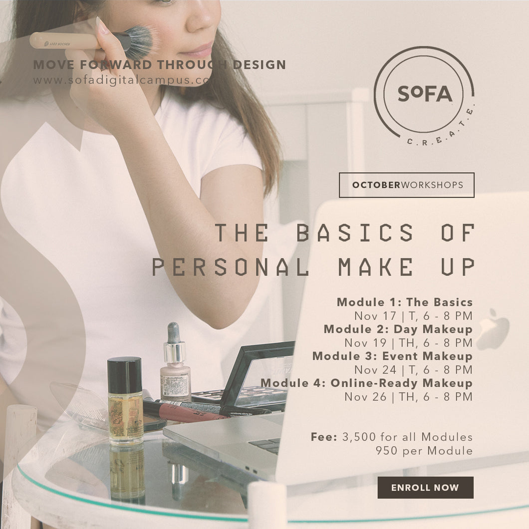 The Basics of Personal Make Up Workshop