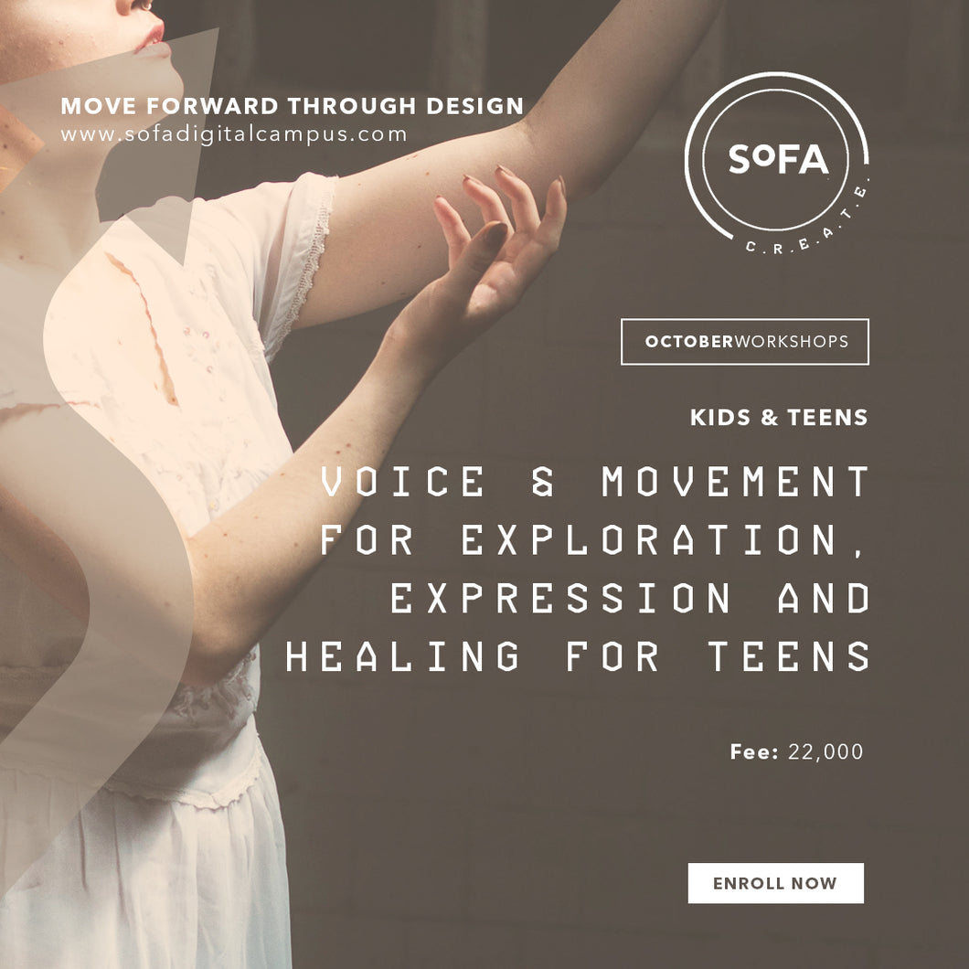 Voice & Movement for Exploration, Expression and Healing for Teens (COMING SOON)