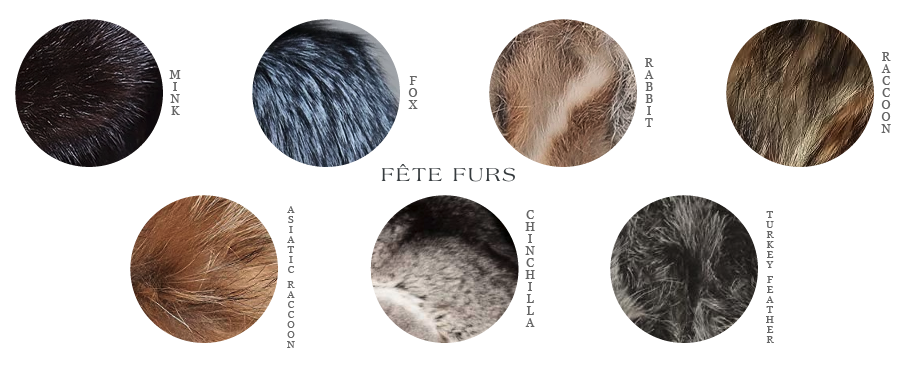 Fete Furs Fur and Feather Types