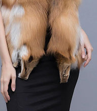 Load image into Gallery viewer, Natural Red Fox Fur Vest - fetefurcoats