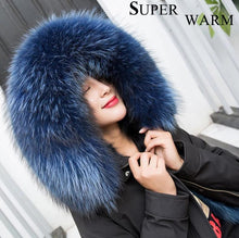 Load image into Gallery viewer, 3-in-1 Convertible Parka w/ Raccoon Fur Lining & Hood (Varied Colors) - fetefurcoats
