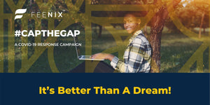 It's Better Than A Dream. It's #CapTheGap. And It's Real!
