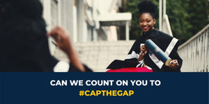Can We Count On You To #CapTheGap?