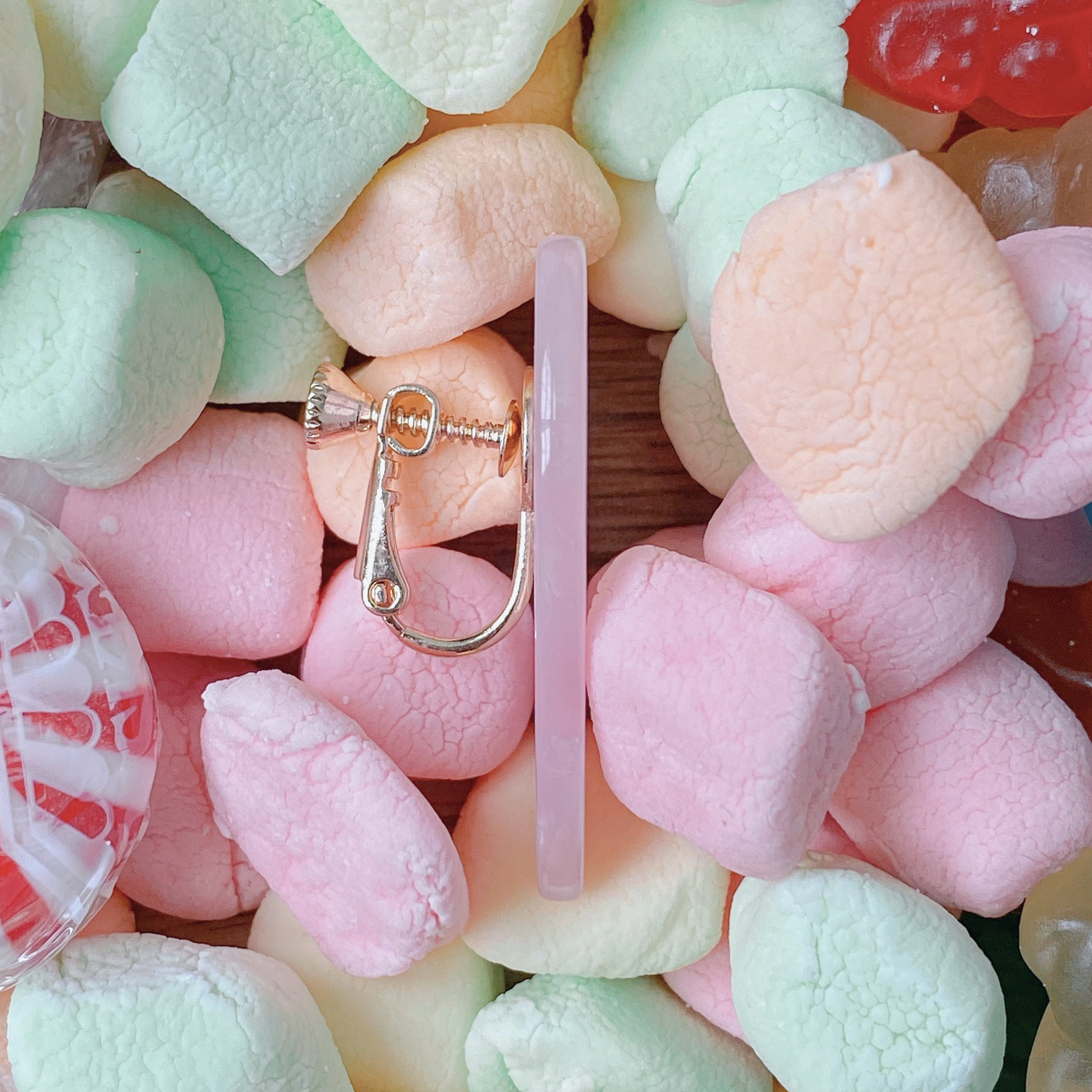 Crushed Candy Heart Earrings