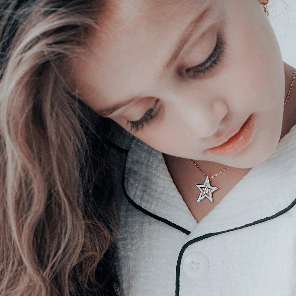 Angel Star Necklace