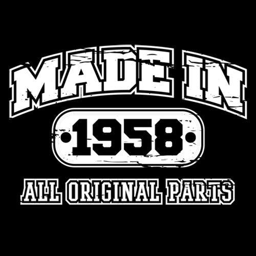 Made in 1958 All Original Parts