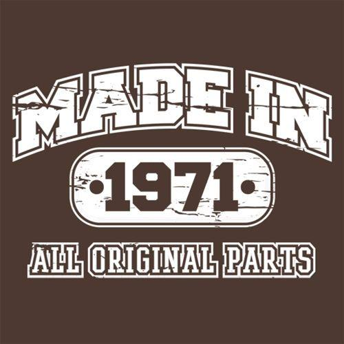 Made in 1971 All Original Parts