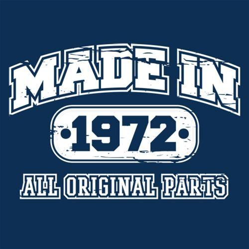 Made in 1972 All Orginal Parts - Roadkill T Shirts