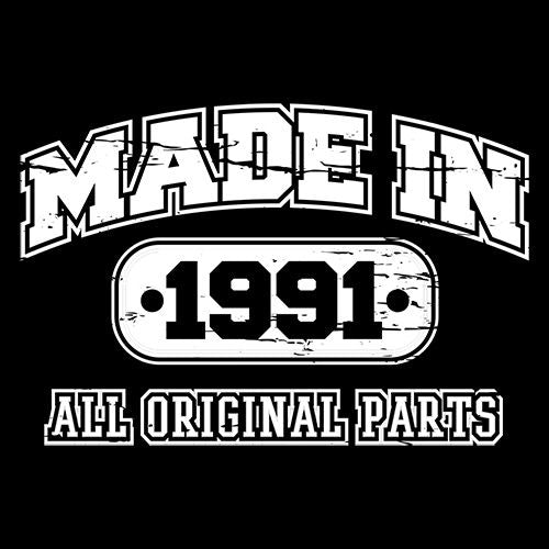 Made in 1991 All Original Parts - Roadkill T Shirts