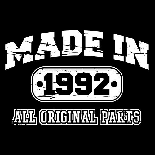 Made in 1992 All Original Parts - Roadkill T Shirts