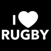 I Love Rugby - Roadkill T Shirts