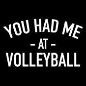 You Had Me At Volleyball - Roadkill T Shirts