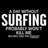 A Day Without Surfing Probably Won't Kill Me But Why Take The Chance