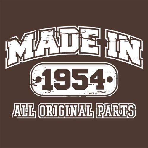 Made in 1954 All Original Parts
