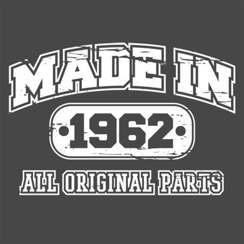 Made in 1962 All Original Parts - Roadkill T Shirts