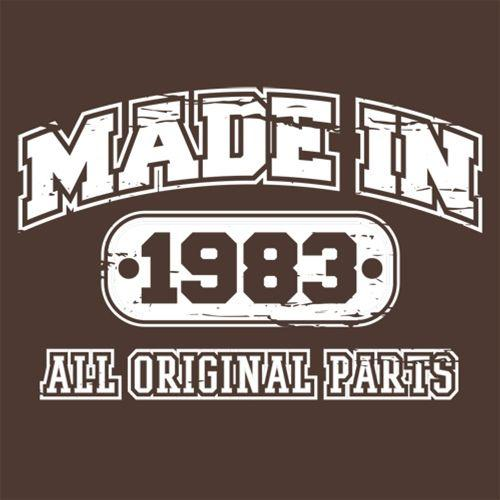 Made in 1983 All Original Parts