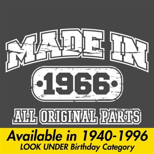 Made in 1966 All Original Parts